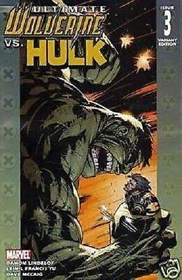 Hulk #1 3rd Printing Variant Ultimate Wolverine Vs