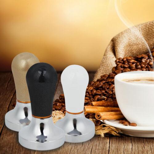 57mm Kaffee Hammer Tamper Werkzeug Espresso Base Presse Pulver Bean Kapse