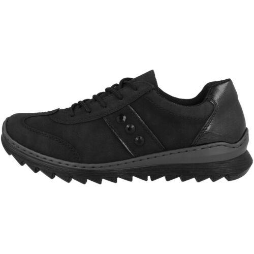 Rieker Naplouse-waveletlack Chaussures femmes Antistress Loisirs Sneaker m6214-00