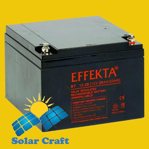Battery elektro Regulator Controller Charger Panel Solar 28Ah 12V
