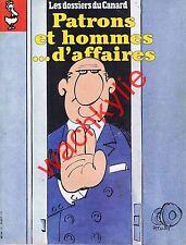 Les dossiers du canard n°55 du 04/1995 Patrons Economie Arnault Pinault