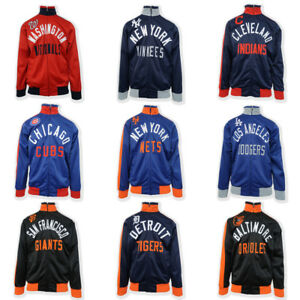 G-III-Sports-by-Carl-Banks-Men-039-s-MLB-Racer-Turtle-Neck-Zip-Sweater-Retail-99