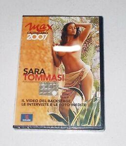 Calendario Sara Tommasi 2007.Dettagli Su Dvd Sara Tommasi By Giovanni Cozzi 2007 Backstage Max Sexy Calendar Calendario 2