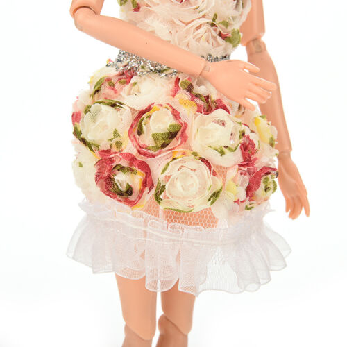 Fashion Handmade Clothes Flower Dresses Package Hip Skirt For  Doll/_CH