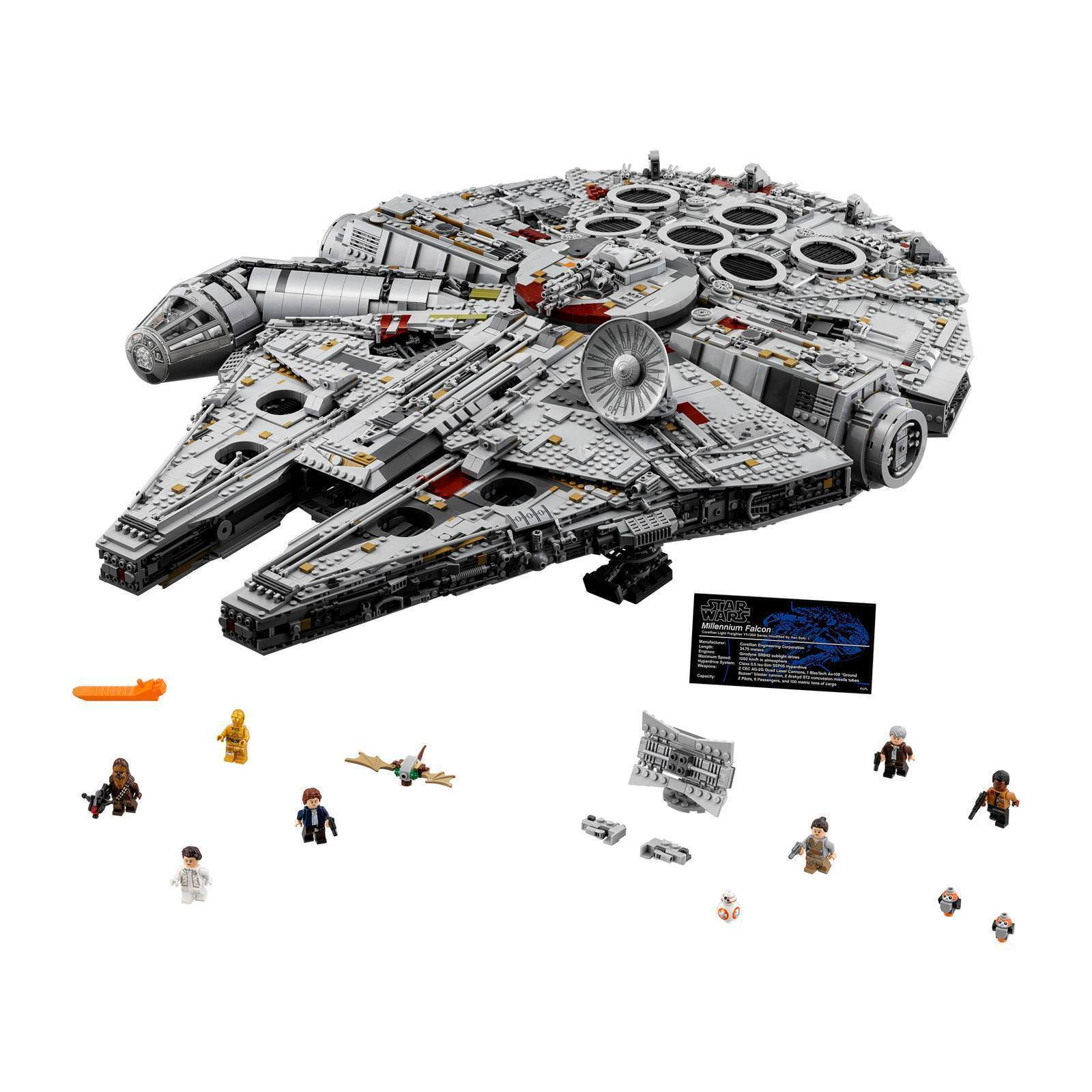 BRAND NEW LEGO Star Wars Ultimate Millennium Falcon 2017 (75192), SHIPS FAST