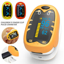 Pediatric Fingertip Pulse Spo2 Oximeter Blood Oxygen Saturation Meter Pr Monitor