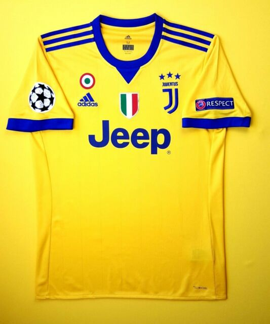Juventus Jersey Medium 2017 2018 Away Shirt Bq0430 Soccer Football Adidas Ig93 For Sale Online Ebay