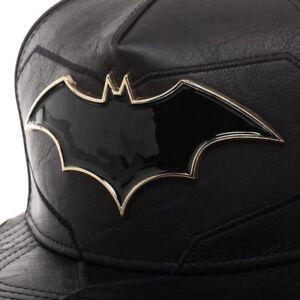 795dc0642 Details about DC Comics Batman Rebirth Suit Up Snapback Adjustable Hat Cap