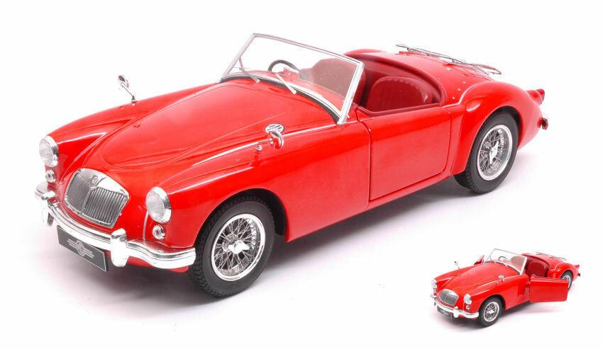 Mga Mki A 1500 Open Convertible 1957 rouge 1 18 Model TRIPLE 9