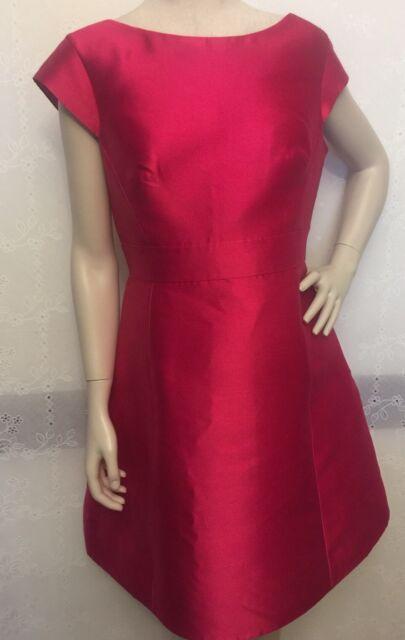 cc482c7ea95 NEW KATE SPADE Sweetheart Pink In Full Bloom Backless Mini Dress Size 12   398