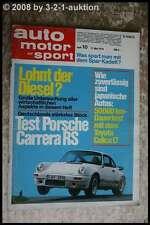 AMS Auto Motor Sport 10/74 Porsche Carrera Toyota Celica JEEP Wagoneer