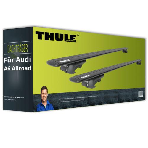 Dachträger EBA Alu Thule WingBar EVO für Audi A6 Allroad Typ 4GH NEU inkl