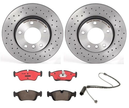 Automotive Parts & Accessories Brembo Front Brake Kit Drilled Disc ...
