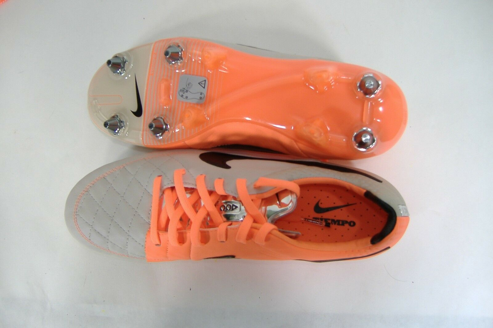 RARE Hommes 8 PRO NIKE Tiempo Legend V SG PRO 8 Removable Cleats Chaussures  210 631614-009 70198f