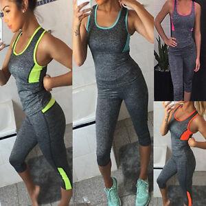 sexy damen mode slim fit sportbekleidung yoga gym fitness. Black Bedroom Furniture Sets. Home Design Ideas