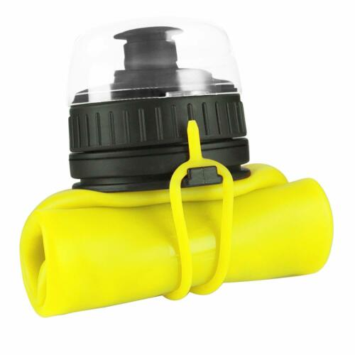 SHOKE Collapsible Water Bottle 19oz Soft Silicone Portable for Sports Traveling