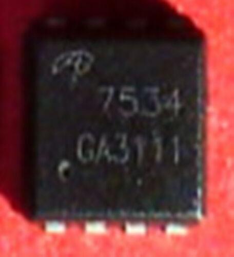 1 pcs New AON7534 AO7534 7534 QFN8 ic chip