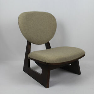 Japanese Style Low Chair Wood Stool Kneeling Chair ...