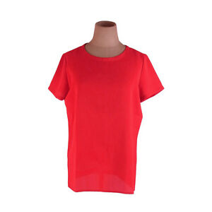 6291cda9f Image is loading Saint-Laurent-tops-Red-Woman-Authentic-Used-F1289