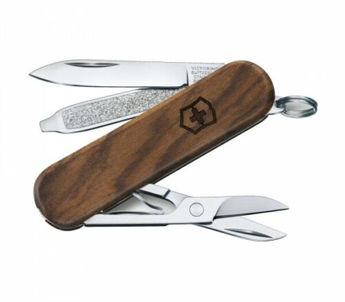Victorinox Taschenmesser Classic SD Wood S Nussbaumholz 0.6221.63