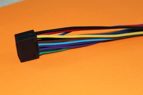 Wire Harness for Kenwood KDC-BT952HD KDC-HD552U KDC-X598 KDC-BT645U #S