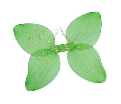Green Wings Tinkerbell Fairy Princess Angel Peter Pan Hen Night Fancy Dress