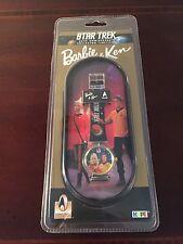 VINTAGE Watch 1996 Star Trek 30th Anniv Collector Timepiece (Barbie & Ken),MIP