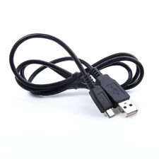 USB Battery Charger PC Data Sync Cable Cord For Sony Cybershot DSC W830 B Camera