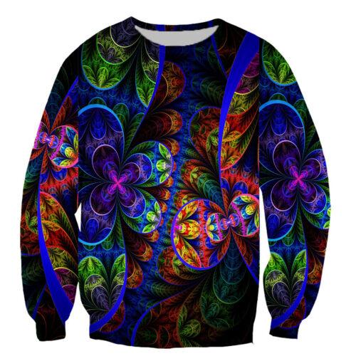 classical psychedelic 3D Print Casual Sweatshirt Mens Women Hoodie Pullover Tops