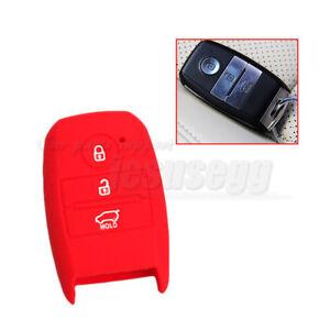 Black Silicone Remote Key Case Cover Fob For KIA Sorento Carens Forte 2013-2015