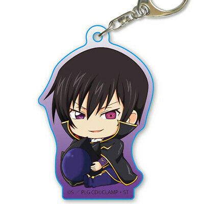 Code Geass Lelouch Cafe Exclusive Character Acrylic Key Chain Mascot Anime Art