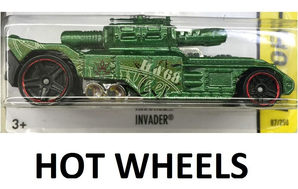 INVADER Hot Wheels - HW Off-Road Battle Kings Series 2//5 KHAKI 2015