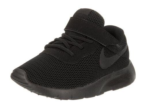 Toddler Black//Black 818383-001 Hook and Loop Strap Shoes TDV Nike TANJUN