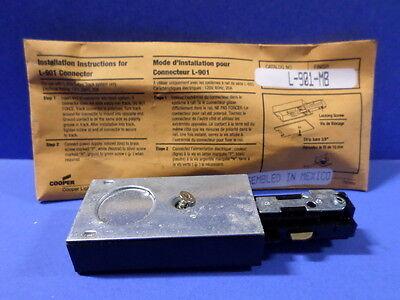 NIB *PZB* COOPER LIGHTING L-901 CONNECTOR