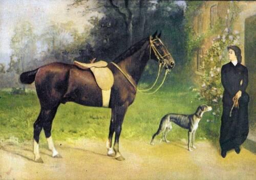 Lady Horse Dog Fox Like by K Wirth