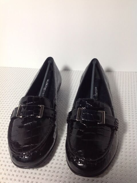 March Loafer Shoes - Black Patent