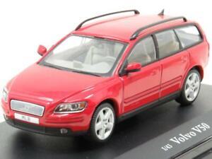 Motorart-Diecast-VFL-1240-VOLVO-V50-Rosso-1-43-scala-in-Scatola