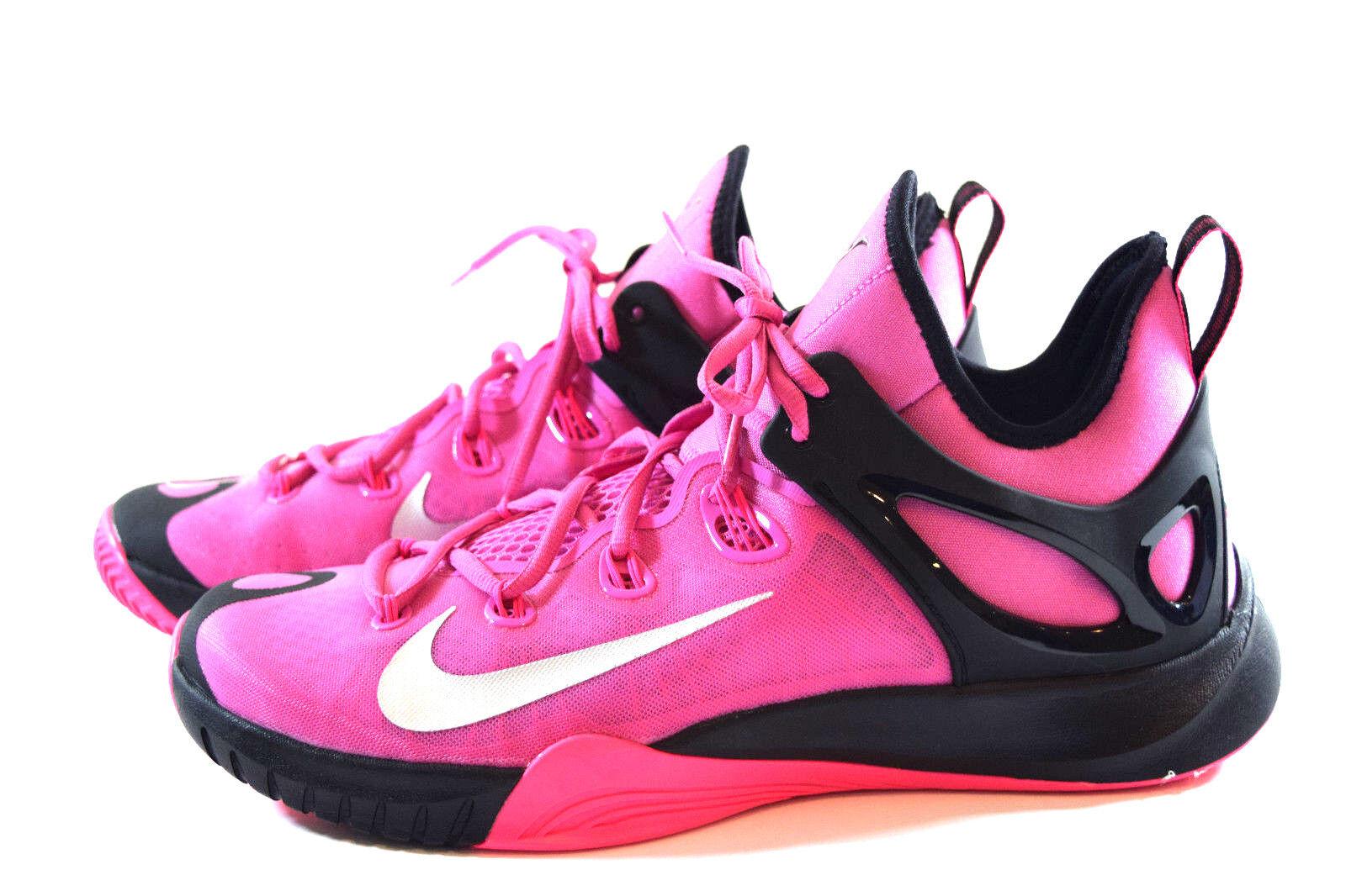nike zoom hyperrev - 11,5 rosa schwarze basketball - hyperrev schuhe 705370-606 5e18d3