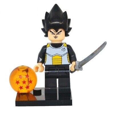 Goku Torneo Tenkaichi DBZ Custom Figures Gashapon MOC LEGO  Nuovo in Blister