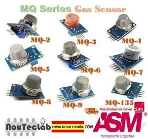 Belle Gas Detection Sensor Module Mq-2 Mq-3 Mq-4 Mq-5 Mq-6 Mq-7 Mq-8 Mq-9 Mq-135
