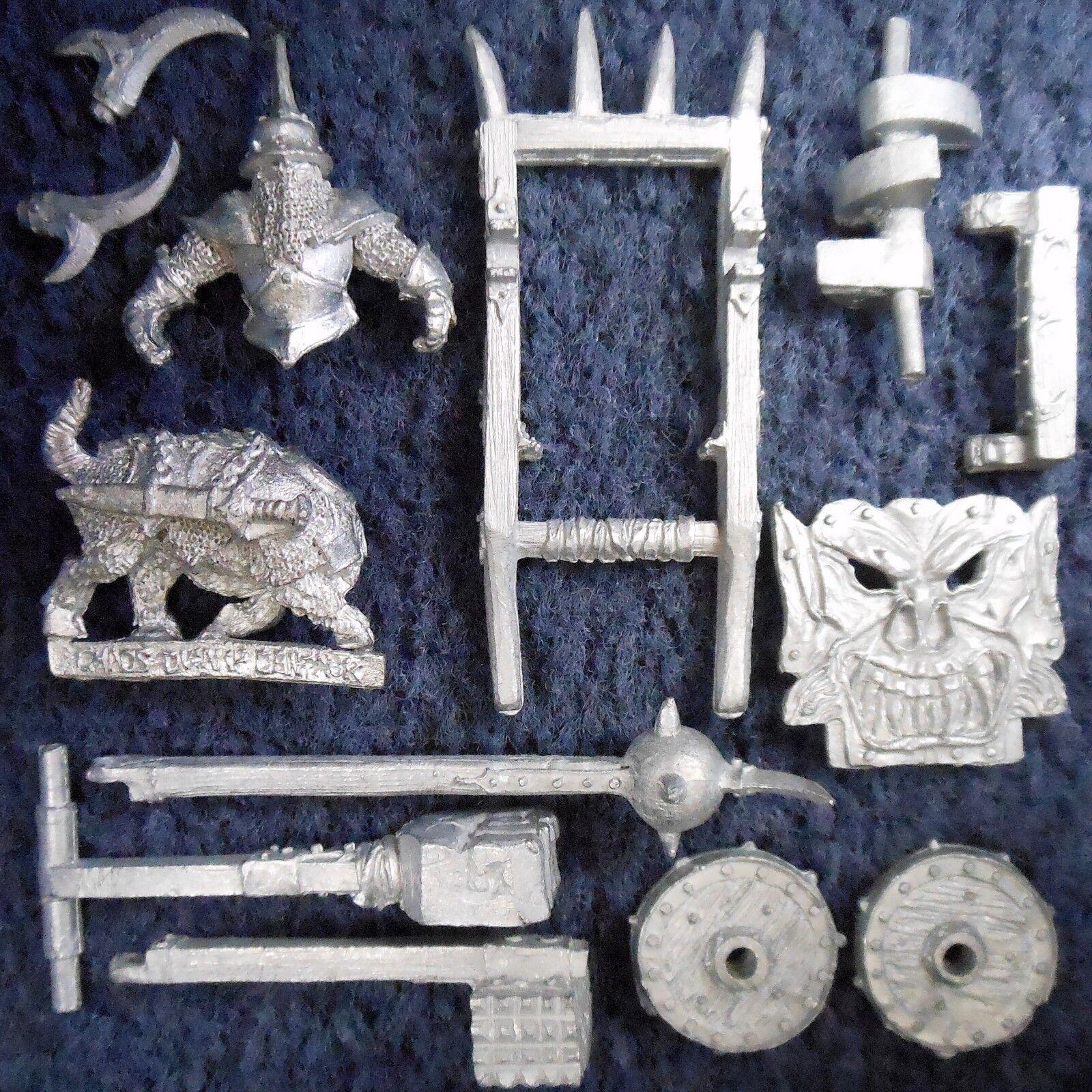 1987 caos enano Ablandador ciudadela 0205 CH3 Máquina de Guerra Warhammer army Hordas