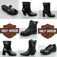New Authentic Harley Davidson Womens Boots/Oxford/Sandal Shoes