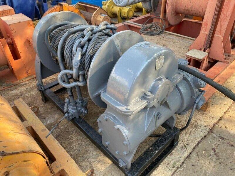Hydraulic Truck Winch