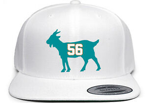 Miami Dolphins John Offerdahl Goat Snapback Hat