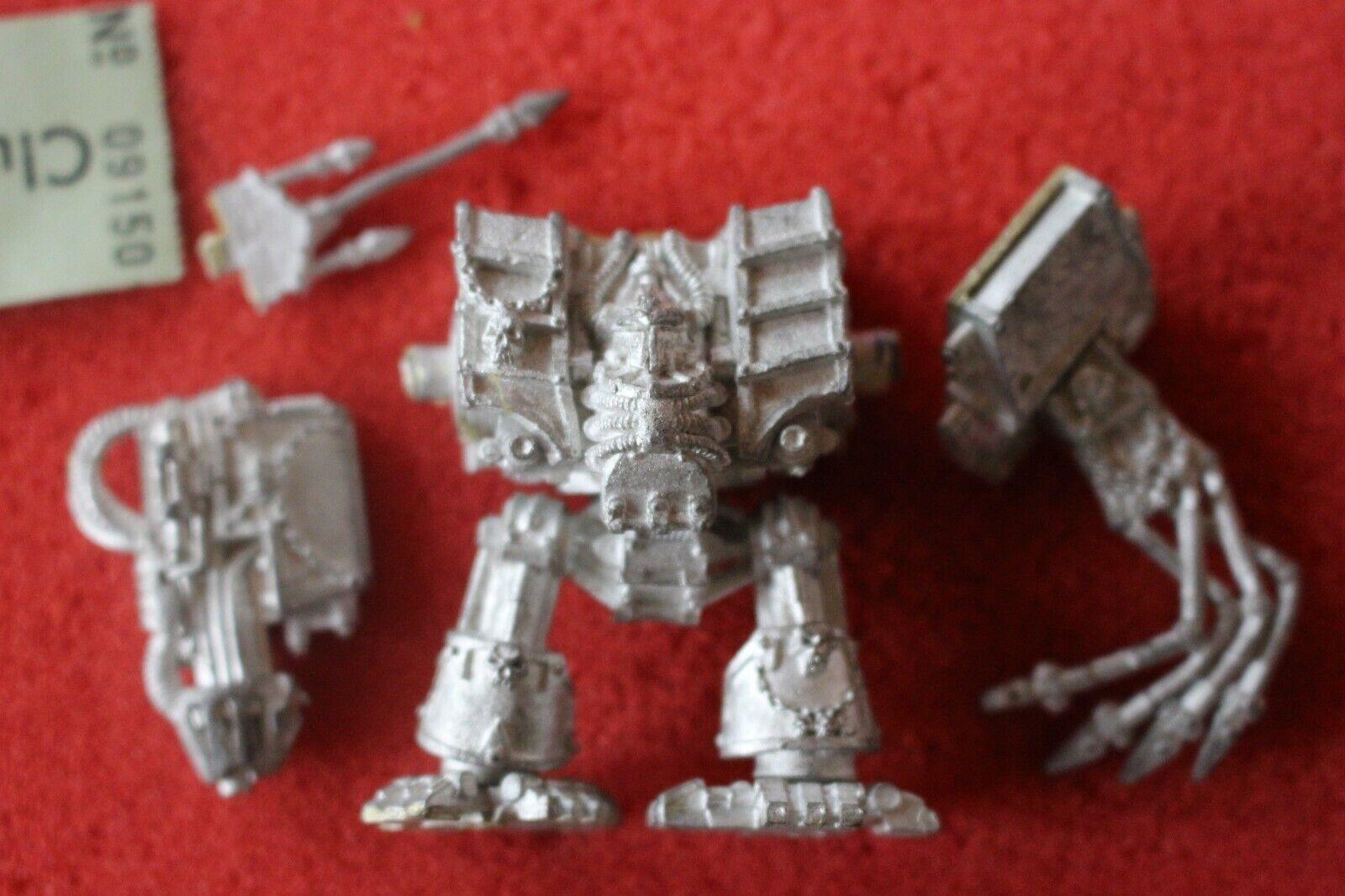Games Workshop Warhammer 40k Chaos Space Marines Dreadnought Hellbrute Metal G25
