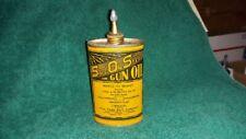 SOS Safe On Steel Gun Oil Tin Can Handy Oiler Fur Fame Bait Co Shell Box
