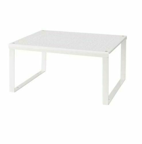Ikea Variera Shelf Insert Stackable White Cupboard Kitchen Organiser Stand