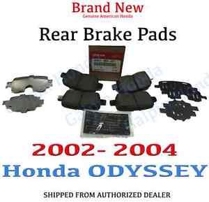 Rear OE Brake Calipers For 2002 2003 2004 Honda Odyssey