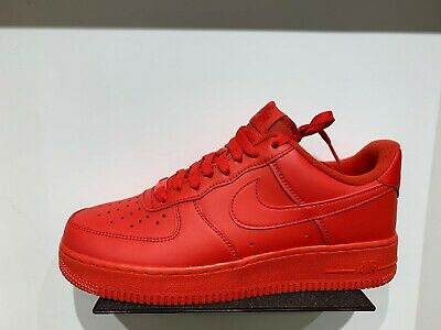 Nike AIR FORCE 1 Low Triple Red All Red October Men Sz 8 13 NEW CW6999 600