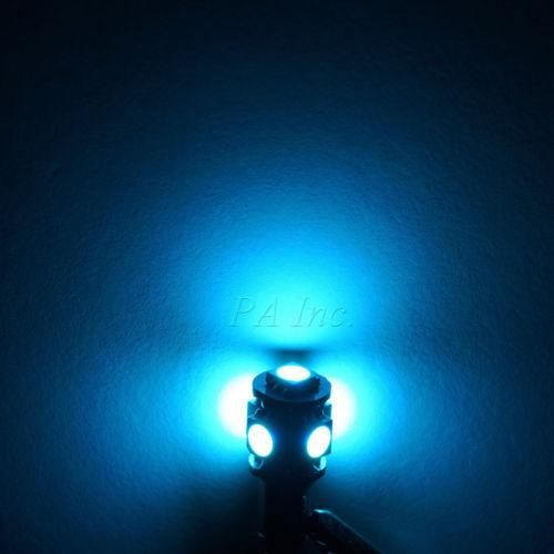 Error Free Ice Blue 17pc Interior LED Light Kit for 98-00 Volvo V70 Estate Wagon